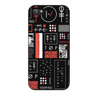 twenty one pilots collages case for iphone 5 5s