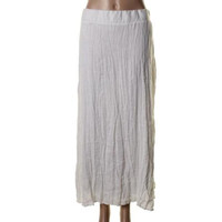 INC Womens Plus Linen Crinkled A-Line Skirt