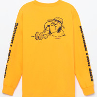HUF x Peanuts Spike Downhill Long Sleeve T-Shirt at PacSun.com