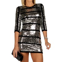 Sale-silver Embellished Tunic