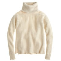 J.Crew Womens Collection Cashmere Turtleneck Sweater