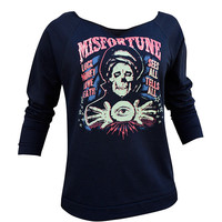 Misfortune Unfinished Sweatshirt By Lowbrow Art Company