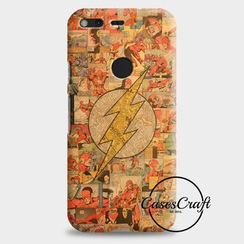 Flash Comic Compilation Google Pixel 2 Case | casescraft