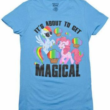 My Little Pony It's About To Get Magical Licensed Women's Junior T-Shirt - XXL