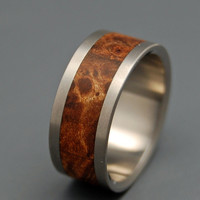 For the Love of Maple - Wooden Wedding Rings