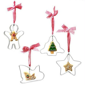 Christmas Ornament - Gingerbread Star