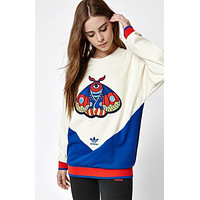 adidas Originals Embellished Arts Embroidered Sweatshirt
