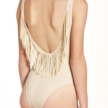 Rip Curl 'Joyride' Fringe One-Piece Swimsuit | Nordstrom
