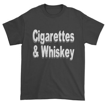 Cigarettes And Whiskey Mens T-shirt