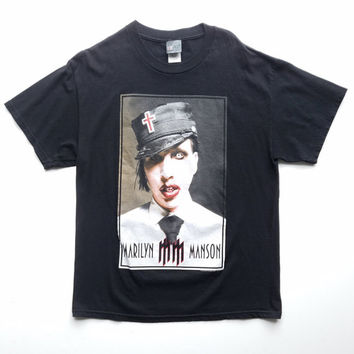 best marilyn manson t shirt products on wanelo. Black Bedroom Furniture Sets. Home Design Ideas