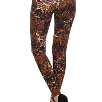 Always Cool Printed Leggings Perfect All Year Round - Cute Womens Leggings