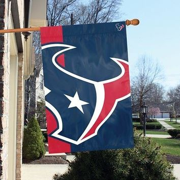 "Houston Texans 24"" x 36""  Bold Logo Banner Flag"
