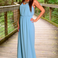The Nikki Maxi, Light Blue