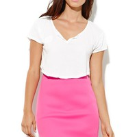 You Belong To Me Skirt - Womens Skirt - Fushia