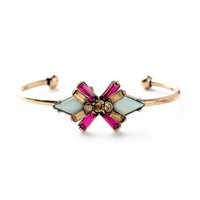 So Flyy - Flower Jeweled Bangle