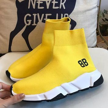 Balenciaga Elastic socks and shoes