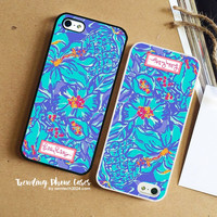Mai Tai Blue-Lily Pulitzer iPhone Case Cover for iPhone 6 6 Plus 5s 5 5c 4s 4 Case