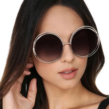 Gold So Hollywood Sunglasses