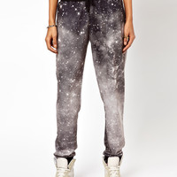ASOS Sweatpants in Photographic Galaxy Print