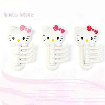 Multiuse Rotatable 4 Hooks Hello kitty Storage Rack Towel Holder Bathroom Shelves Bathing Accessories C0