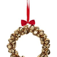 Large wreath with bells - Gold-coloured - Home All | H&M GB