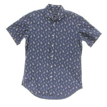 Ralph Lauren Mens Sailboat Printed Button-Down Shirt