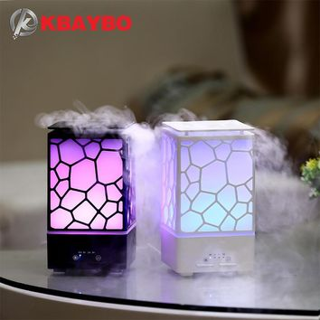 200ml Aroma Essential Oil Ultrasonic Diffuser with LED Lights