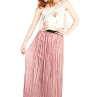 ModCloth Boho Long Maxi Reverie Little Thing Skirt