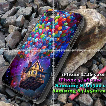 up ballon galaxy iphone case, iphone 4/4S, iphone 5/5S, iphone 5c, samsung s3 i9300, samsung s4 i9500, design accesories