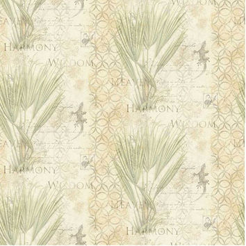 Susan Winget Ferns Wisdom, Cotton Sewing Fabric, Quilting Material, F2004