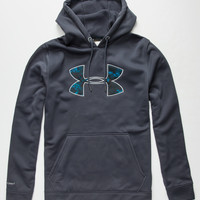 Under Armour Storm Rival Mens Hoodie Charcoal  In Sizes
