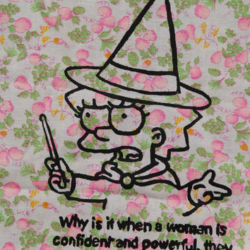 Lisa Simpson witch patch, large