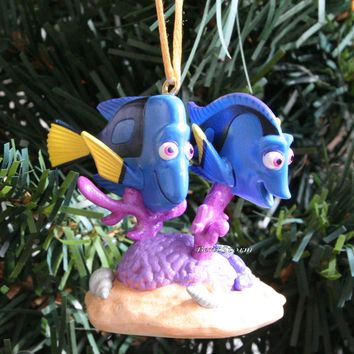 Licensed cool 2016 Custom Disney Nemo Finding Dory CHARLIE JENNY FISH Christmas Ornament PVC