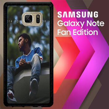 J Cole 2014 Forest Hills Drive  X4742 Samsung Galaxy Note FE Fan Edition Case