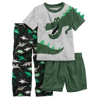 Toddler Boy Carter's 3-pc. T-Rex Dinosaur Pajama Set | null