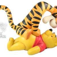 Disney Winnie the Pooh Tigger Big Fig Figure Figurine Statue Rare Huge