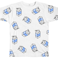 Milk Pattern Tees - INU INU