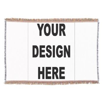 Customized Throw Blanket
