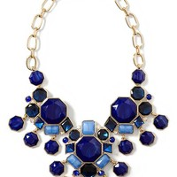 Midnight Sail Statement Necklace