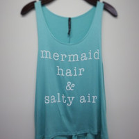 Mermaid Hair Salty Air Tank Top