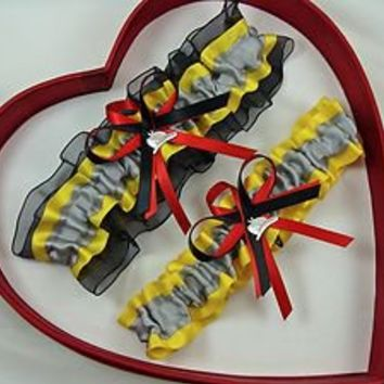 NEW Firefighter Wedding Garter SELECT Single,Set,Reg,Plus Size