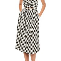 Bardot Ibiza Check Dress | Nordstrom