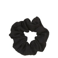 Suedette Scrunchie - Black