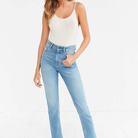 BDG High-Waisted Indigo Girlfriend Jeans - Urban Outfitters