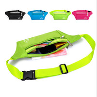 Running Waist Belt Bum Bag Handy Travel Hiking Sport Pack Zip Water Resistant