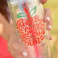 Teachers Change 20 oz. Tumbler