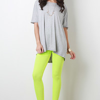 Solid Relaxed Fit Top