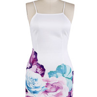 Rose Bottom Bodycon Dress