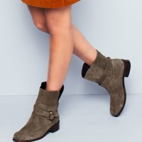 Jemma Suede Short Boots