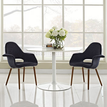 Emfurn Organic Dining Armchair Set of 2